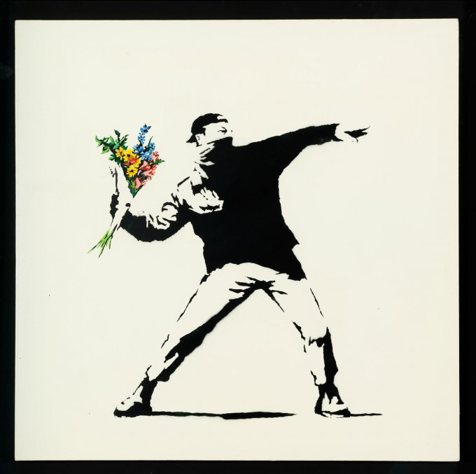 Banksy in mostra a Roma