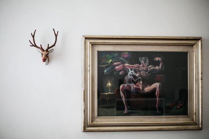Un dipinto di Donato Sansone