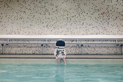 foto bambino astronauta