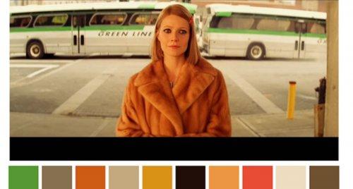 palette colori film