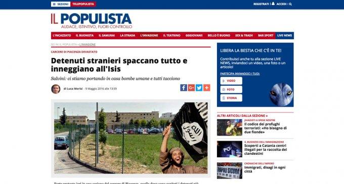 Il Populista di Matteo Salvini