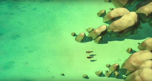 red turtle