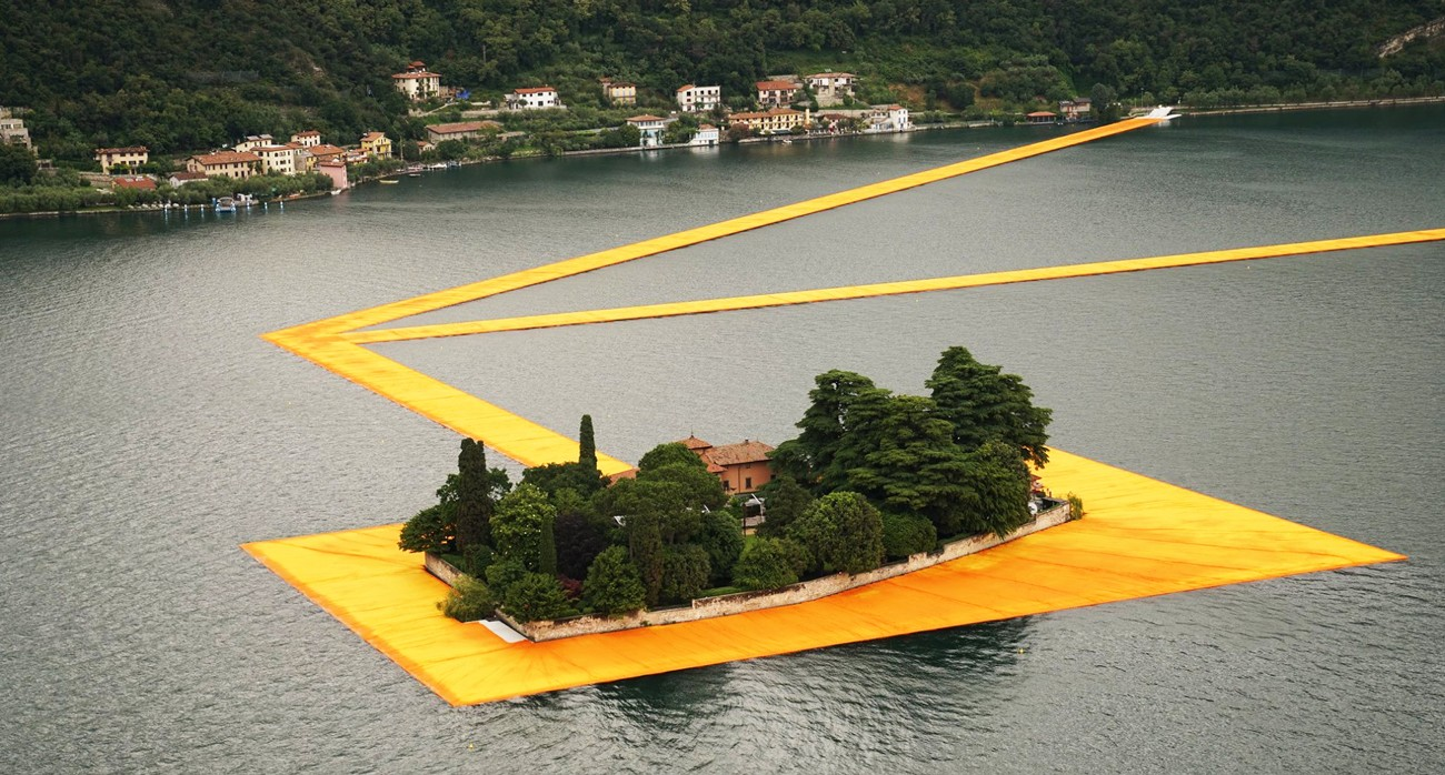 floating piers apertura