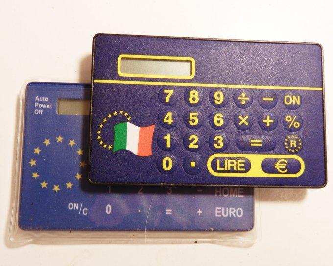 L'ormai leggendario euroconvertitore arrivò un po' dopo il 1999, nel 2002