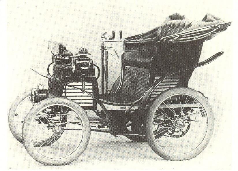 La 3 ½ HP del 1899, la prima FIAT di sempre