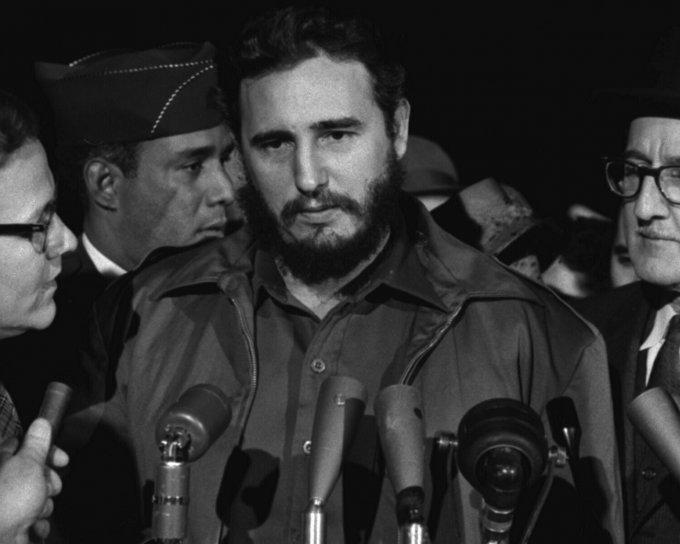 Fidel Castro nel 1959, l'anno in cui prese il potere a Cuba