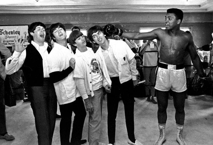 I Beatles e Muhammad Ali