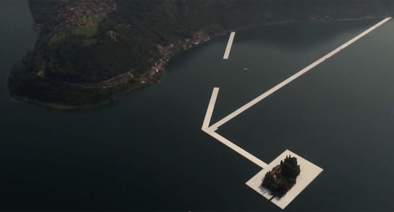 come visitare floating piers di christo sul lago duiseo