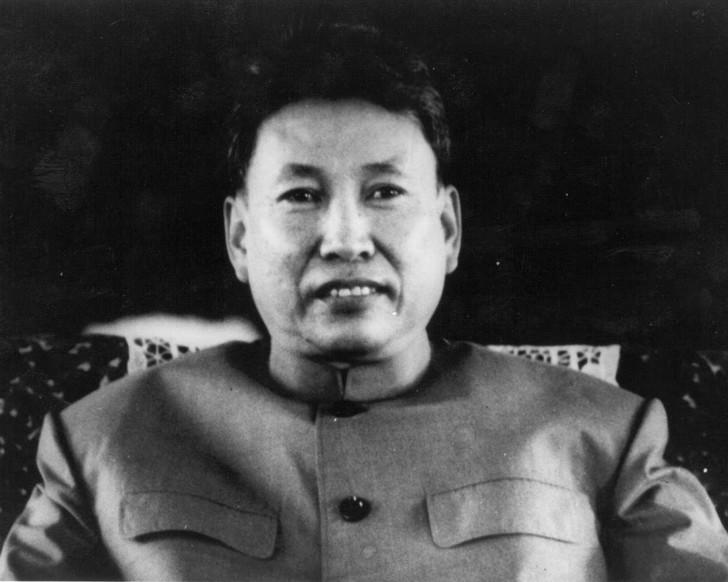 Il dittatore cambogiano Pol Pot
