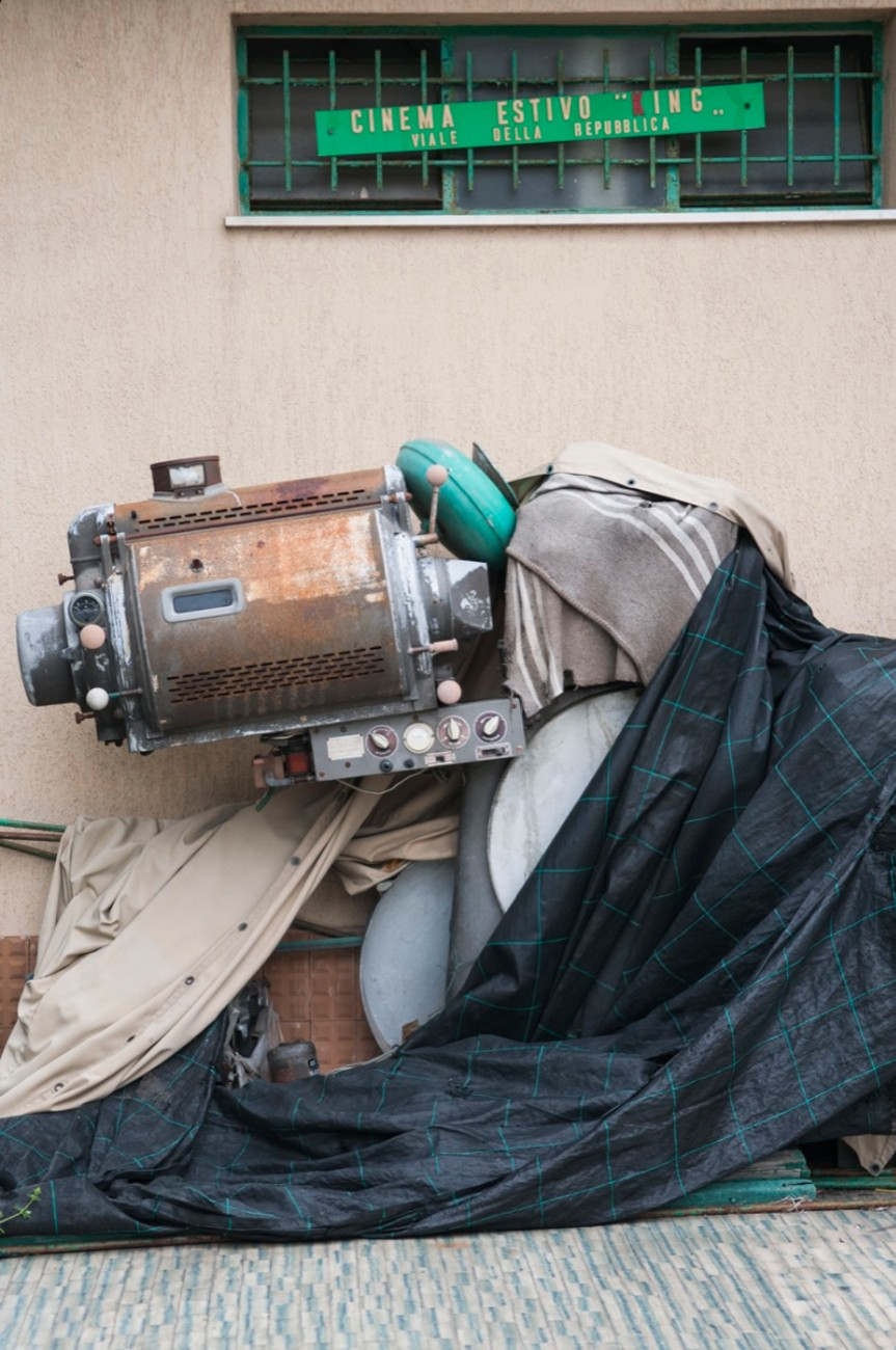 Il proiettore del cinema King, abbandonato da anni - Foto: Gabriele Ferraresi