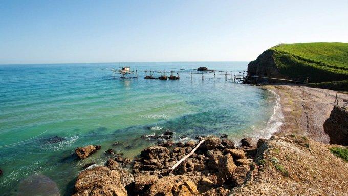 punta-aderci-vasto spiagge libere più belle d'Italia