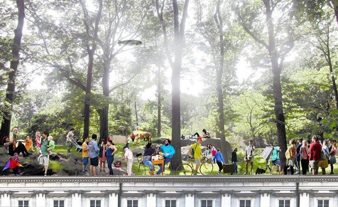 urban super forest