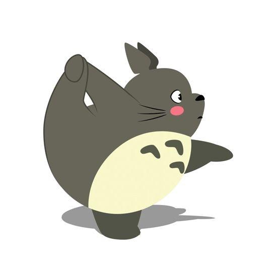 Totoro e lo yoga