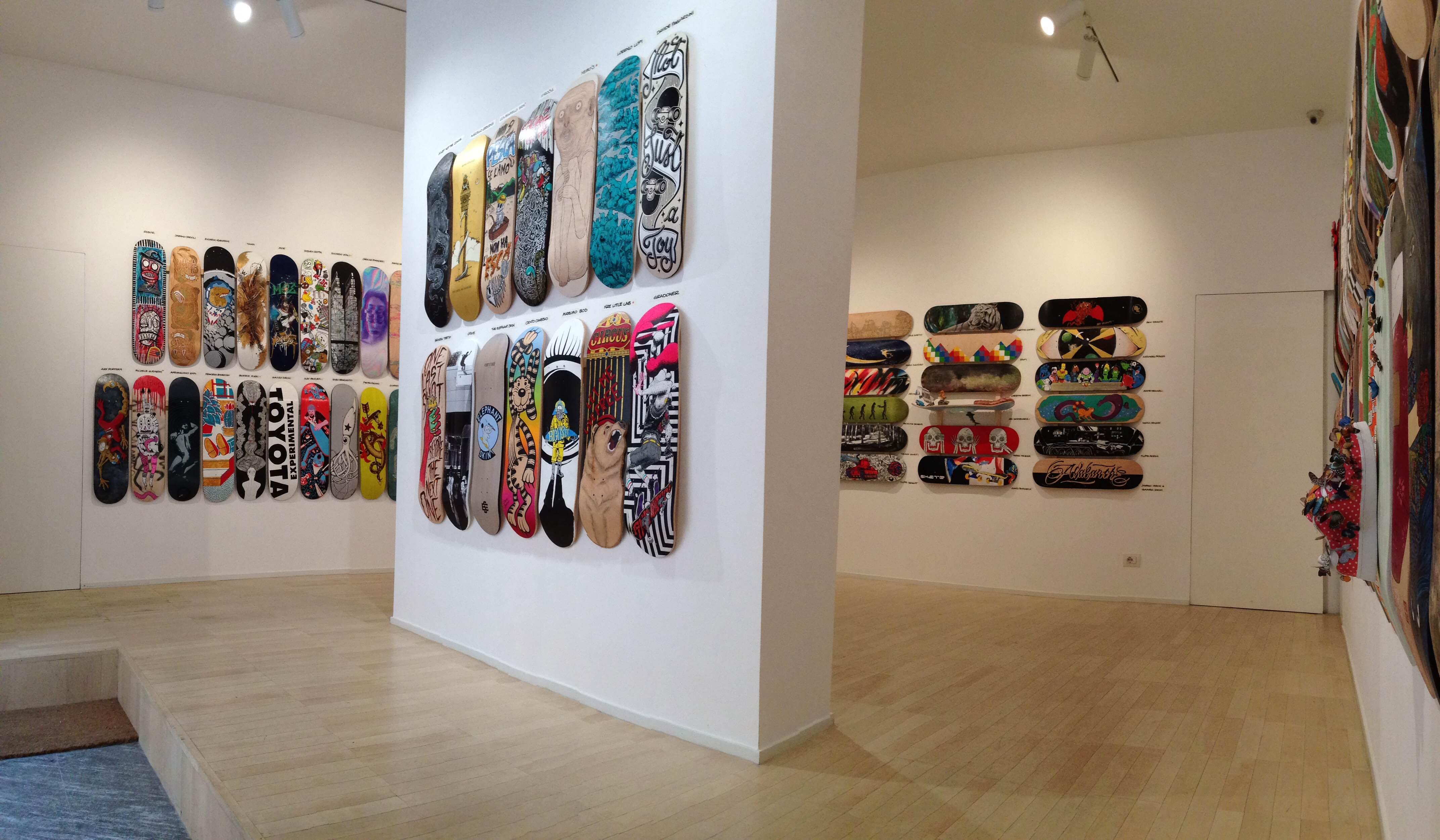 Galleria Seno http://www.galleriaseno.com/skateboardsconfluence.asp