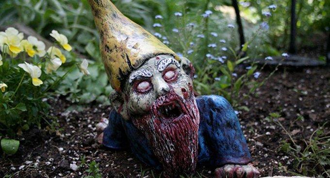 nani da giardino zombie