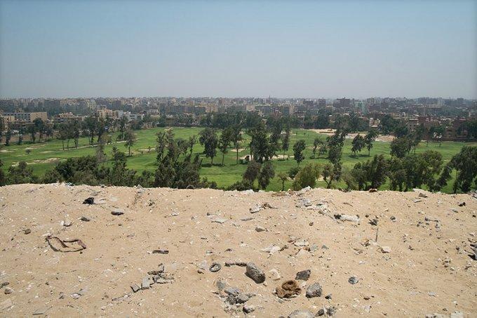 La foto delle Piramidi di Giza, da cui è nato tutto