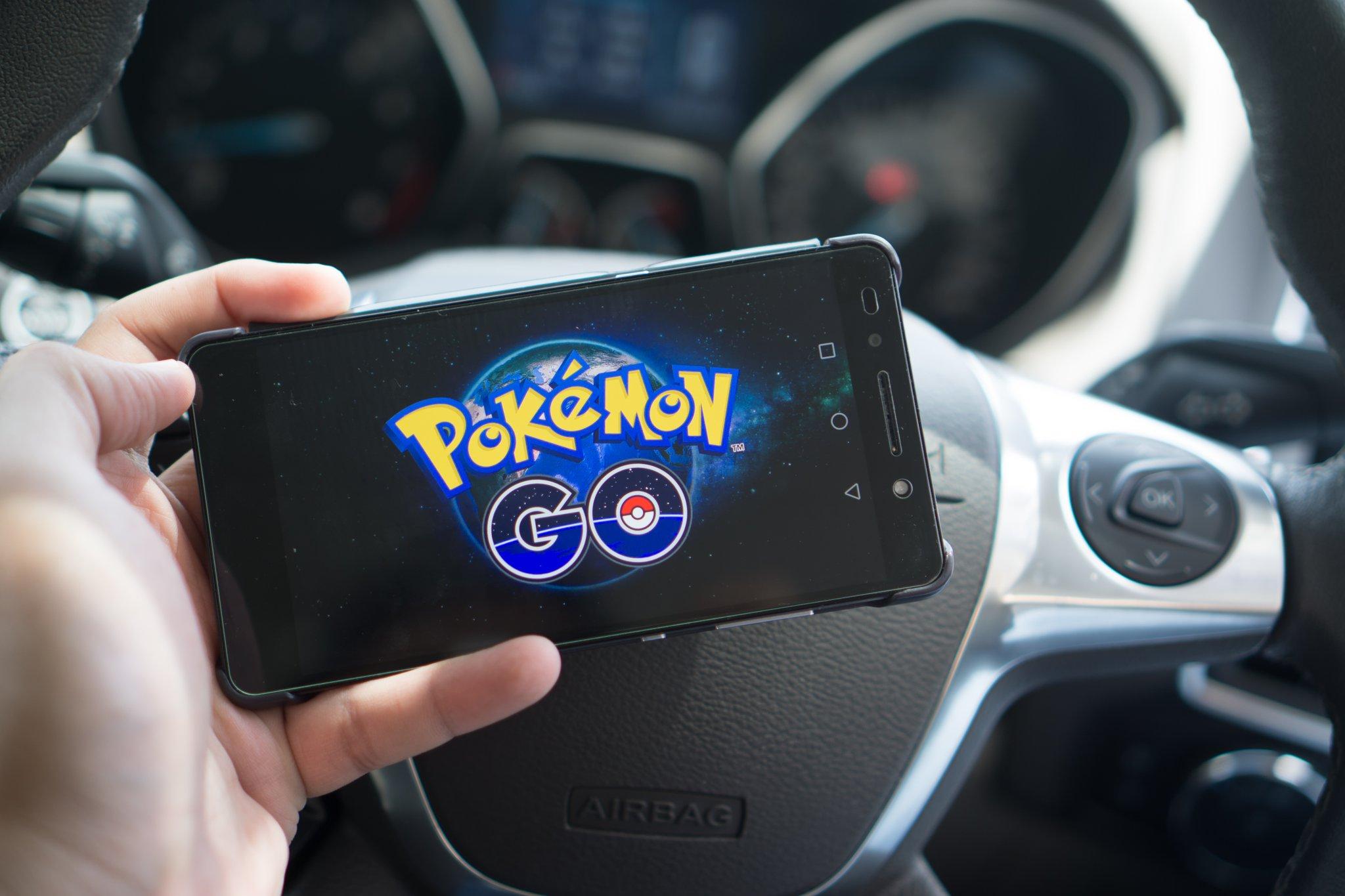 pokemon go macchina