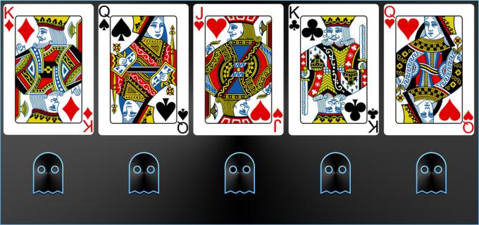 Trucco di magia con le carte