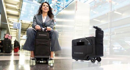 valigia motorizzata modobag