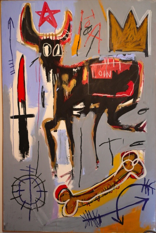 10_Basquiat-Loin-1982_low mostra basquiat milano mudec