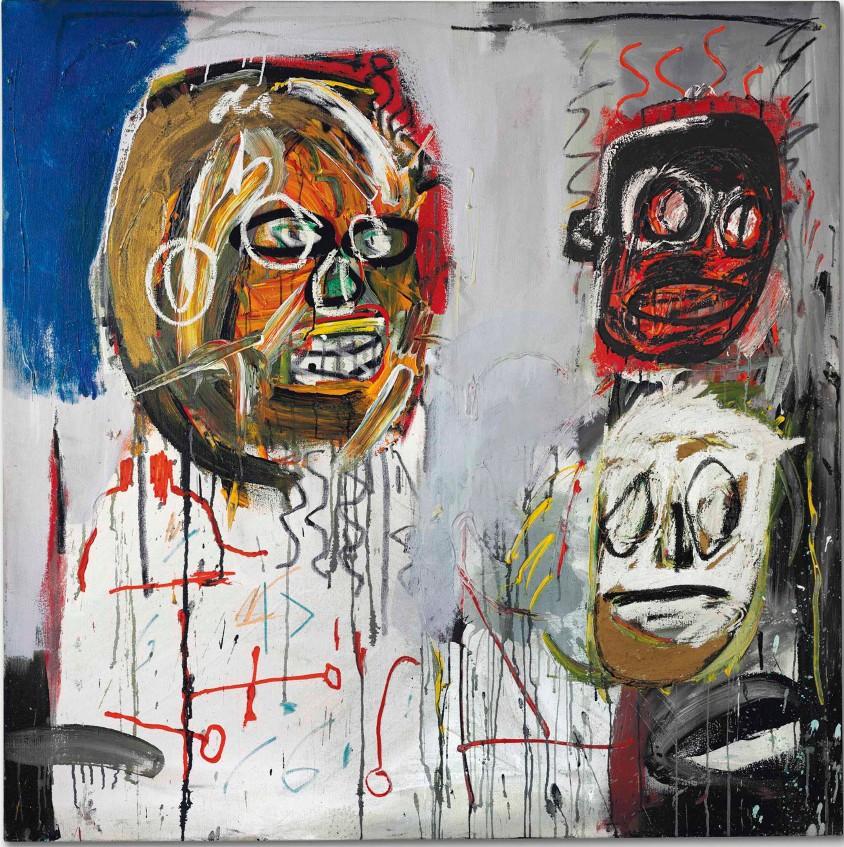 16_Basquiat-ThreeDelegates-1982_low mostra basquiat milano mudec