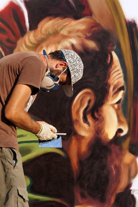 Caravaggio in strada, un'altra magnifica opera di Andrea Ravo Mattoni-2
