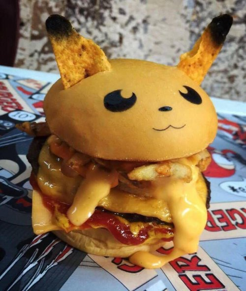 hamburger pokemon 1