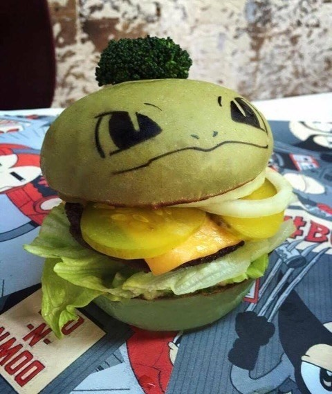 hamburger pokemon 2