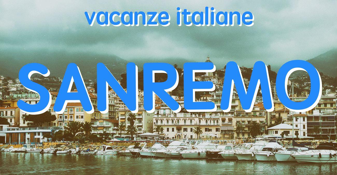 vacanze italiane sanremo