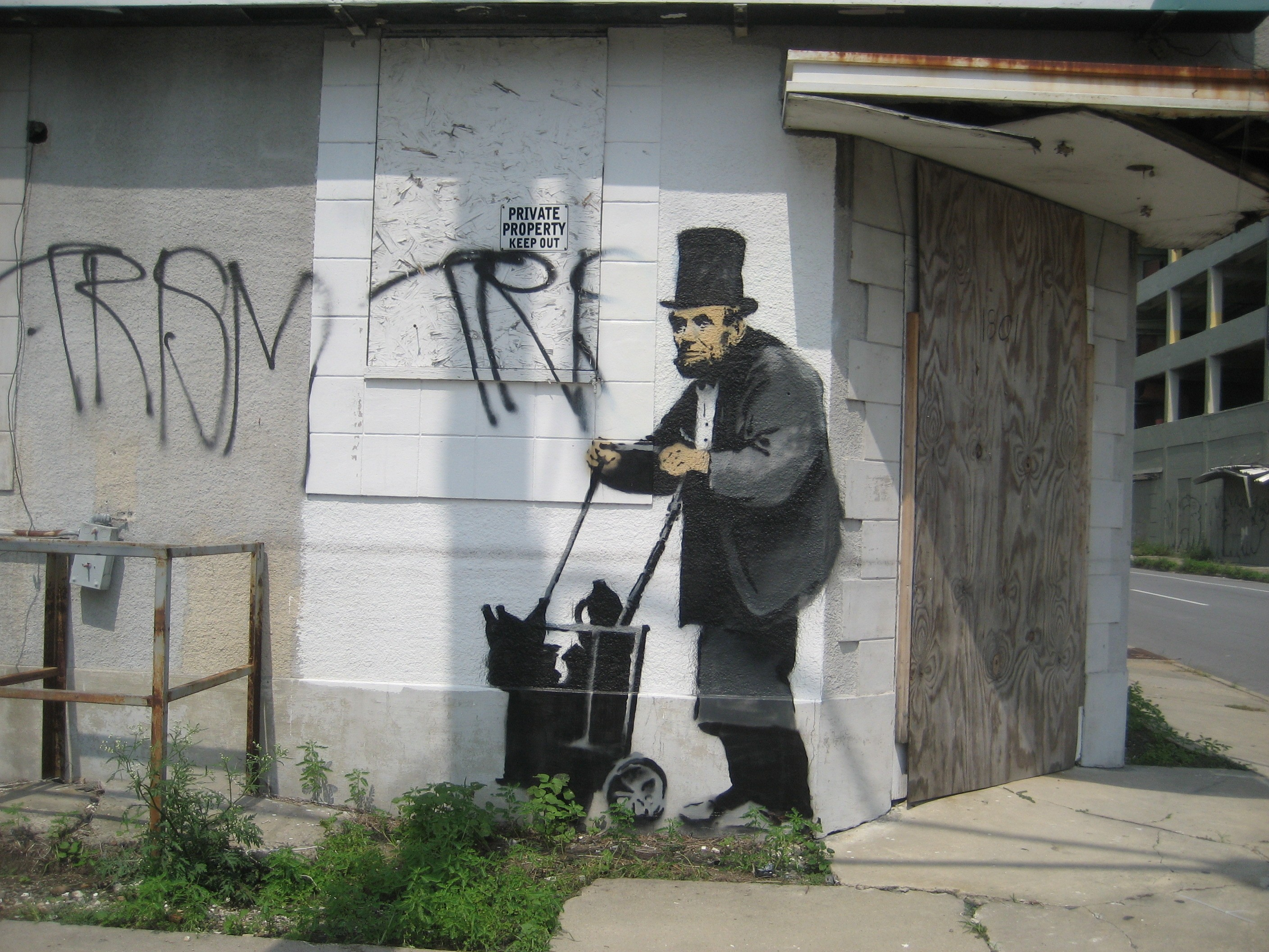 Banksy_Lincoln_New_Orleans