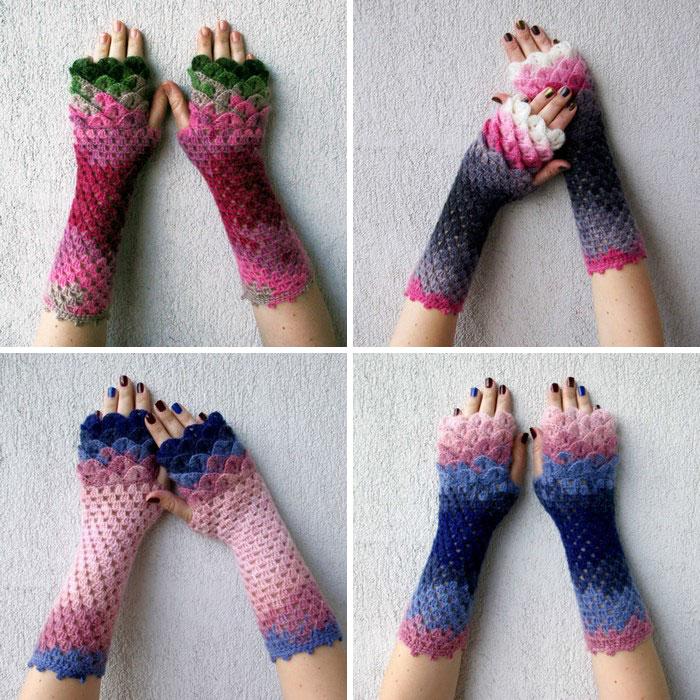 Con questi guanti diventerete dei draghi