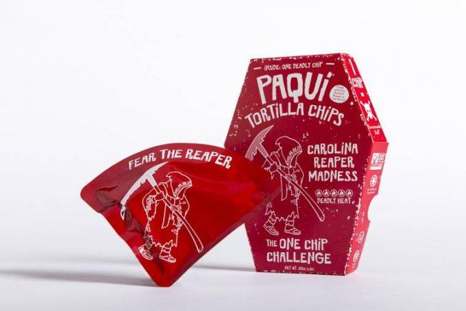 Le patatine più piccanti del mondo sono vendute una a una e bruciano come l'inferno