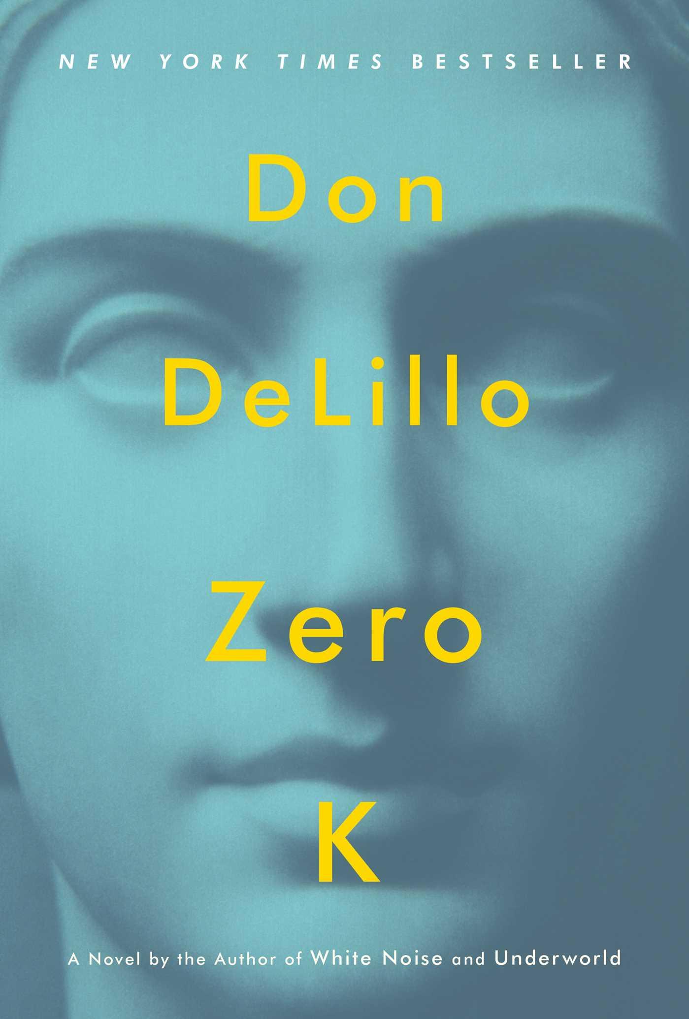 La copertina dell'edizione Simon & Schuster di Zero K