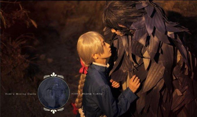 Le foto di una cosplayer danno vita ai film dello Studio Ghibli