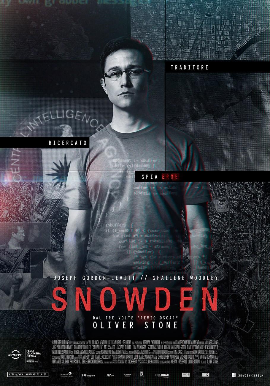 Snowden, di Oliver Stone