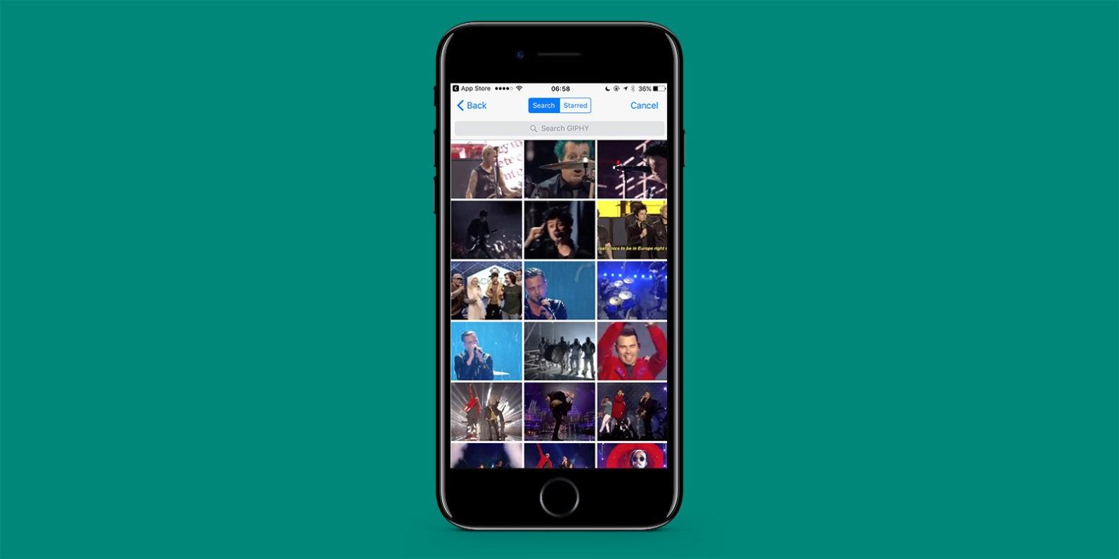 WhatsApp per iOS arrivano le GIF animate