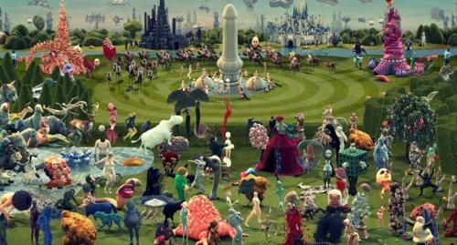 giardino delizie bosch animazione