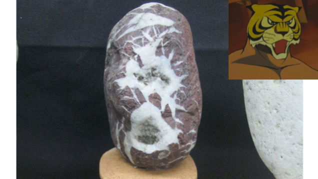 Il museo delle facce che sembrano rocce