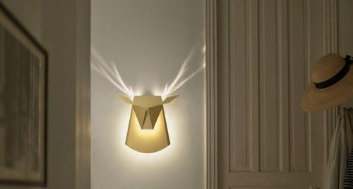 lampade animali origami