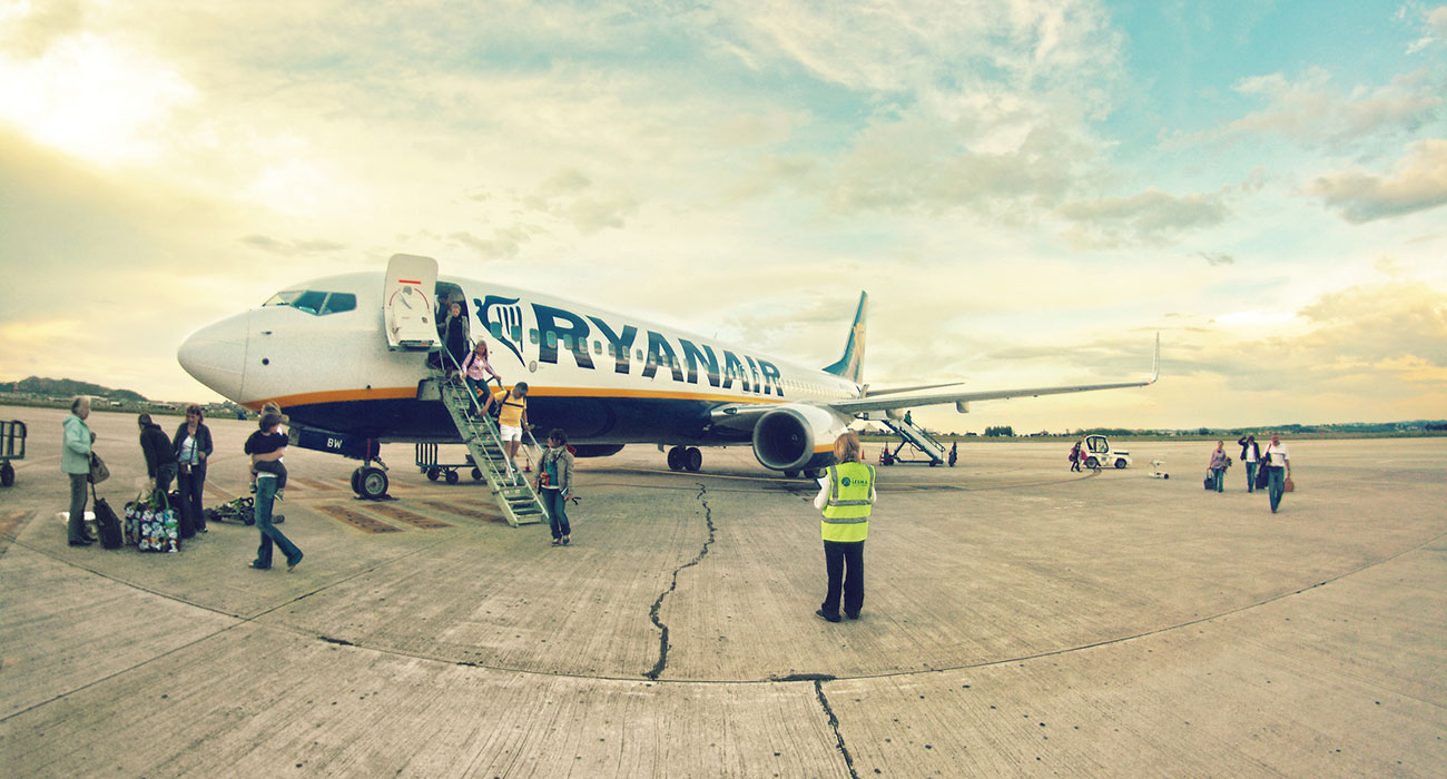 Voli gratis con Ryanair