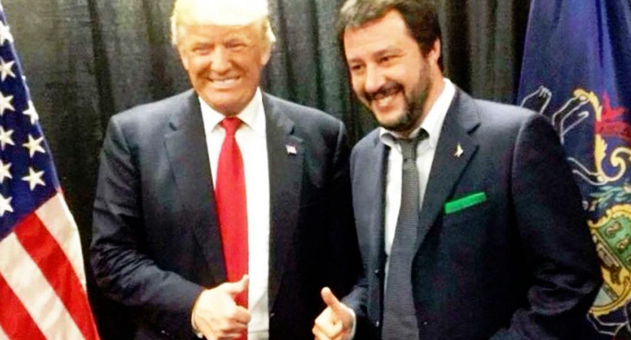donald trump reazioni italia