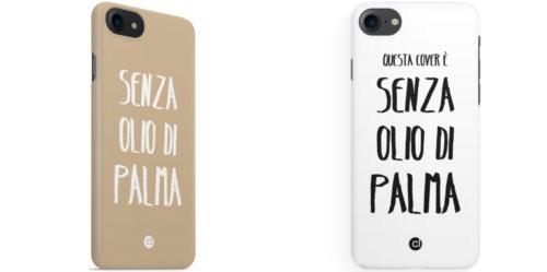 cover cellulare senza olio di palma
