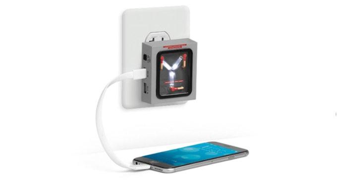 caricabatterie ritorno al futuro