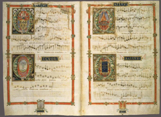 Raccolta di inni polifonici 1538-1539