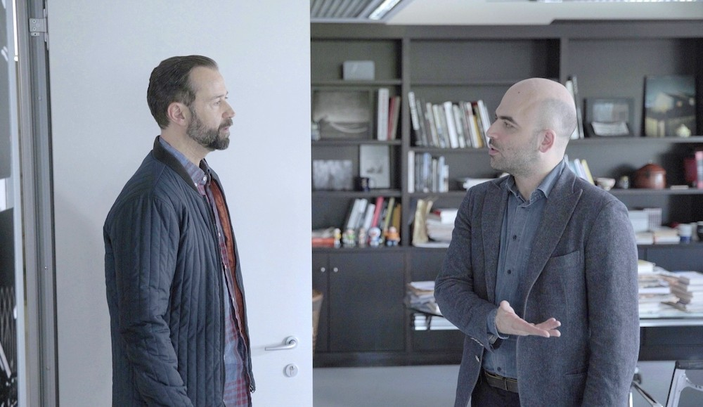 "Fabio Volo e Roberto Saviano in ""Untraditional"""