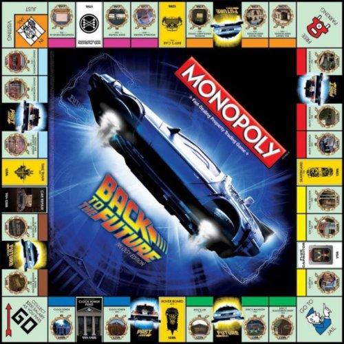 Il tabellone di Monopoli, versione Ritorno al Futuro