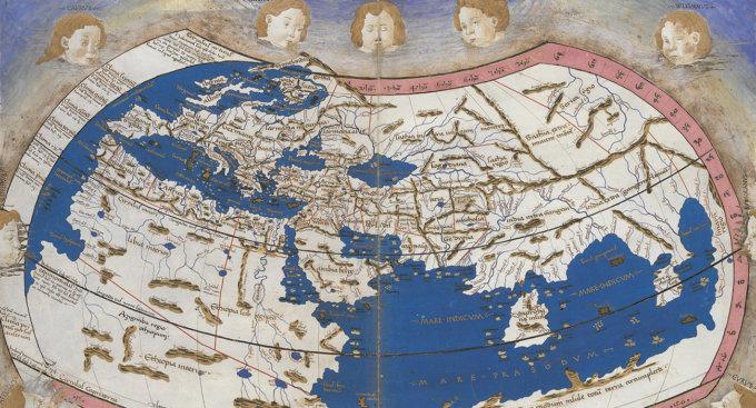 Un'immagine dell'archivio online dei Musei Vaticani