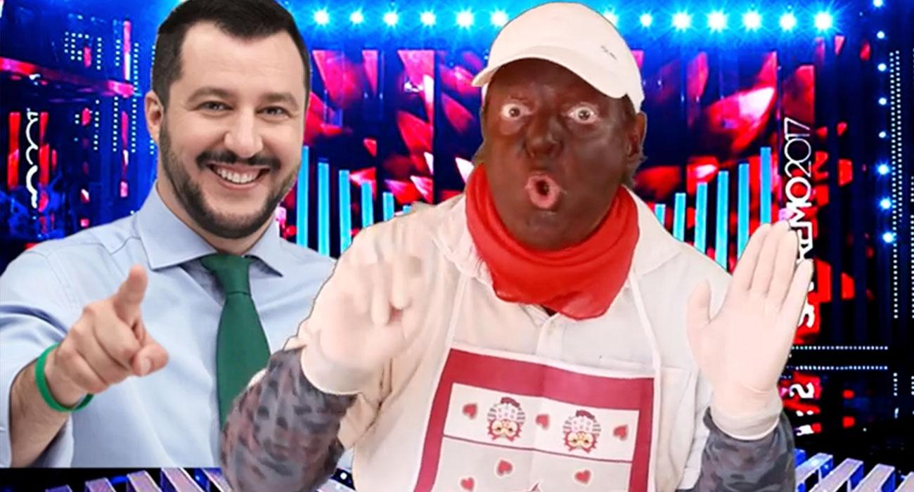 Il comico Dado è diventato il simbolo del razzismo italiano su Forbes