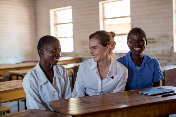 Emma Watson in Malawi