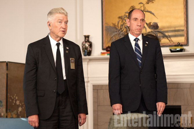 David Lynch e Miguel Ferrer